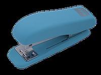 Степлер пластиковый до 20л., RUBBER TOUCH голубой BM4202-14