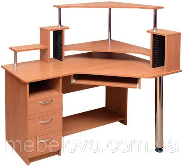 Стол компьютерный Орфей с надставкой  1330х1200х880мм   Пехотин