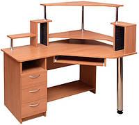 Пехотин  стол компьютерный Орфей с надставкой 1330х1200х880мм