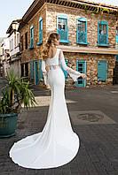 """Восхитительное свадебное платье силуэта """"Русалка"""" на длинный рукав"""