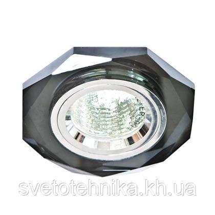 Точечный светильник Feron 8020-2 серый-хром