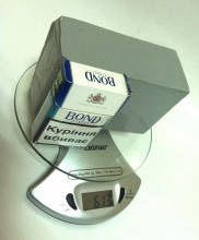 Герметик для фар KOITO серый брусок 500г (6,4м х 1см)