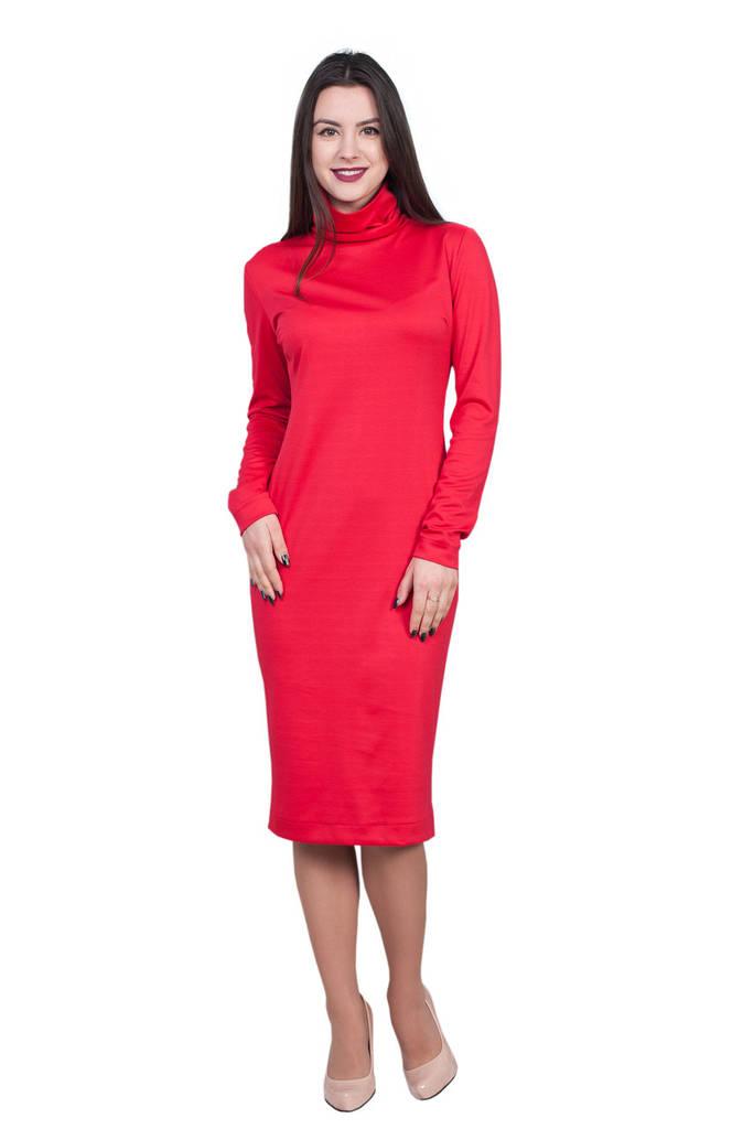Платье Рита 0216_2 Красное