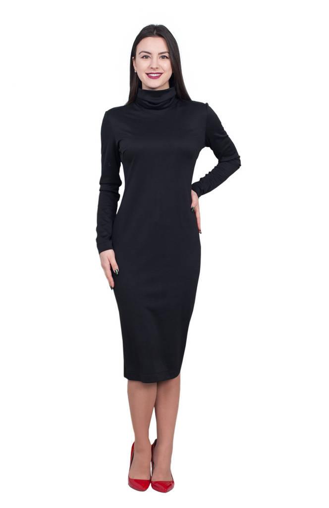 Платье Рита 0216_4 Чёрное