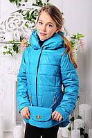 Демисезонная куртка для модниц Модница