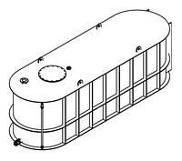 Агро-ёмкости эко для транспортировкиудобрений 15,0