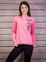 Стильная розовая женская кофточка