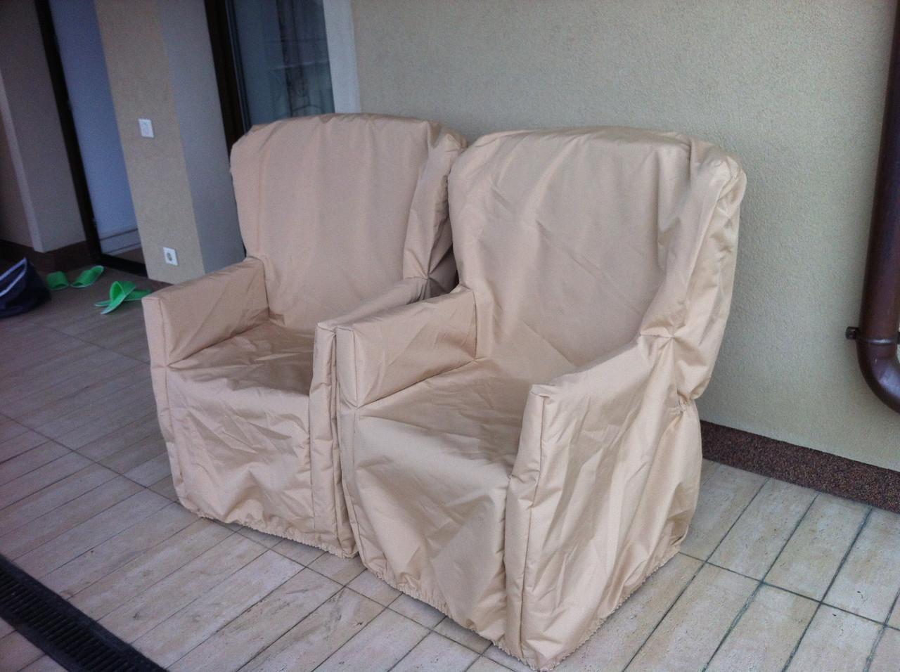 Чехлы на стулья, наружную мебель