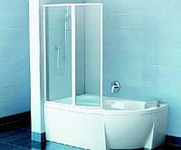 Шторка для ванны VSK2 ROSA 140*150 (Transporant))