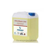 Дезинфектант на основе хлора Froggy ChloriShock L100, 20л