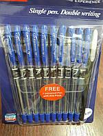 Ручка шариковая Cello Maxriter синяя, 10+1