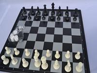 """Игра """"3 в 1"""" магнитная, подарочная. Шашки, шахматы, нарды.19,5х19 см"""