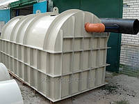 Сепаратор нефтепродуктов Оазис-oil-СН-Ц-5, 1400 х 1500 мм
