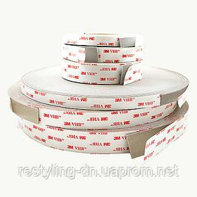 3M™ Двусторонняя клейкая лента ( скотч ) VHB™ 4941 Р 12мм х 33м, толщ. 1,1мм