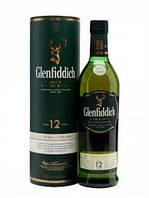 Односолодовый виски Шотландия Гленфидик 12 лет 1л Glenffiddich 12 years