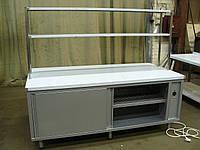 Тепловой стол,стол с подогреврм