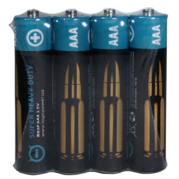 Батарейка AAA R03P Super heavy duty 4шт (3166)