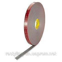 3M™Двусторонняя клейкая лента ( скотч ) VHB™ 4991F 6мм х 16,5м, толщ. 2,3мм