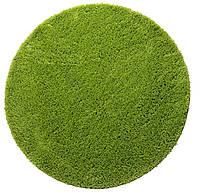 Коврик для ванной комнаты Ø 70 см  зелёный