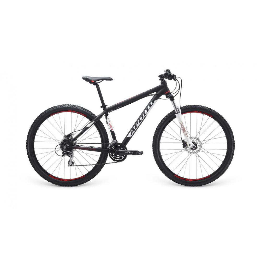 "Велосипед 29"" Apollo Xpert 20 рама - XL 2017 Matte Black/Matte White/Matte Red"