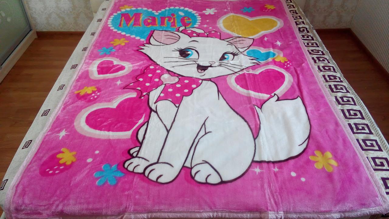 Плед 150*200 кошка Мария