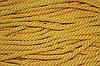 Канат декоративный 6мм мягкий (50м) желтый