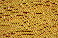 Канат декоративный 6мм мягкий (50м) желтый, фото 1