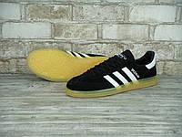 Кроссовки Adidas Spezial Black White, фото 1