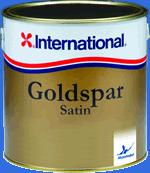 Быстросохнущий матовый лак для яхт Goldspar Satin