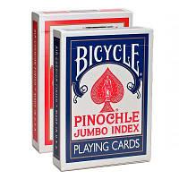 Карты Bicycle Pinochle Jumbo Index