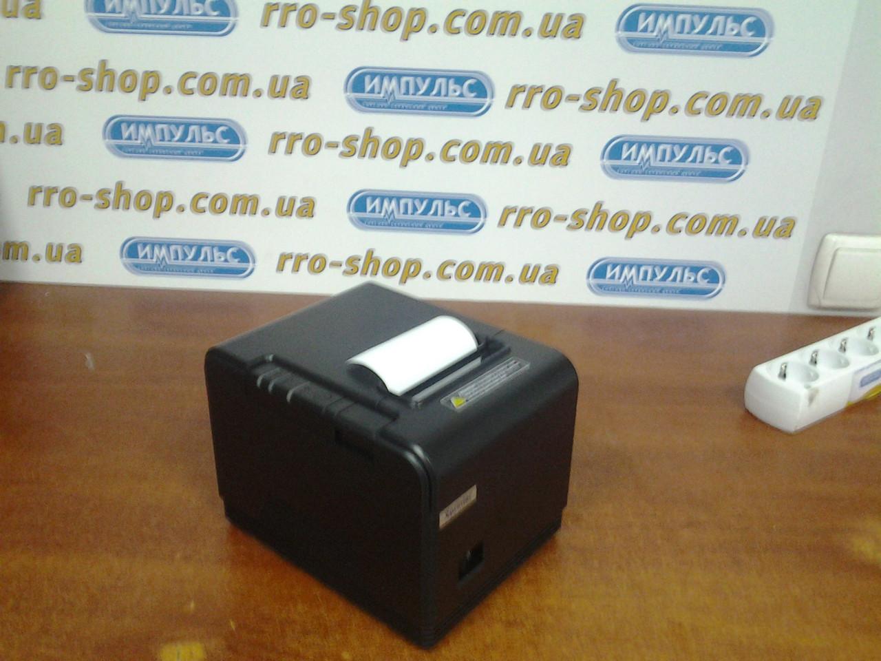 Чековый принтер XPrinter XP-Q800 (USB, RS232, Ethernet, автообрезка чеков, 80 мм)