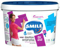 Краска интерьерная «SMILE®» SI22 LATEX 1,4 кг