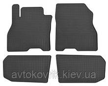 Гумові килимки в салон Nissan Leaf 2012- (STINGRAY)