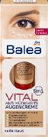 Крем против морщин для зрелой кожи вокруг глаз Balea Vital 5in1 Anti Müdigkeits Augencreme .