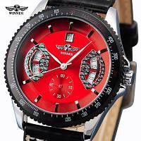 Мужские часы Winner Classic Red