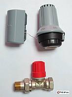 Клапан с термоголовкой для теплого пола Danfoss FTC + RA-N 15