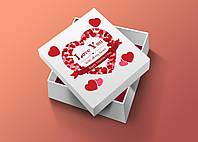 От всего сердца! Наклейка ко дню святого Валентина