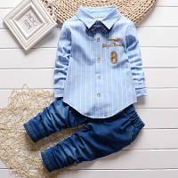 Костюм детский брюки+рубашка