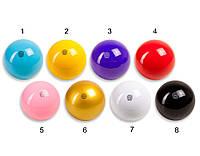 Мяч для художественной гимнастики Amaya резина 18-19 см 400-410 грамм