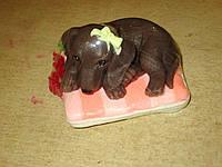 Собачка Такса - мыло ручной работы на подарок