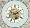 """Настенные часы """"Винтаж"""" (30х30 см) [Акрил, Открытые]"""