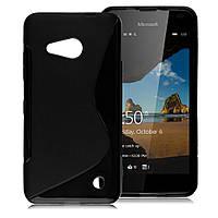 Силиконовый S-line чехол для Microsoft Lumia 550