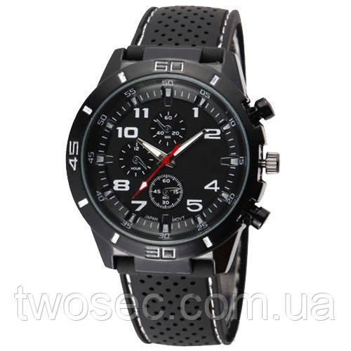 6afa49c8 Часы мужские наручные кварцевые водонепроницаемые противоударные 4QKQ  черные, белые, черно-белые