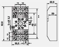 Контактные колодки GZ8