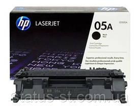 Заправка картриджа HP 05A (CE505A) для принтера LJ P2035, P2055d, P2055dn
