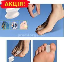 Гелевый выпрямитель большого и указательного пальца ноги, комплект 2шт (1пара)