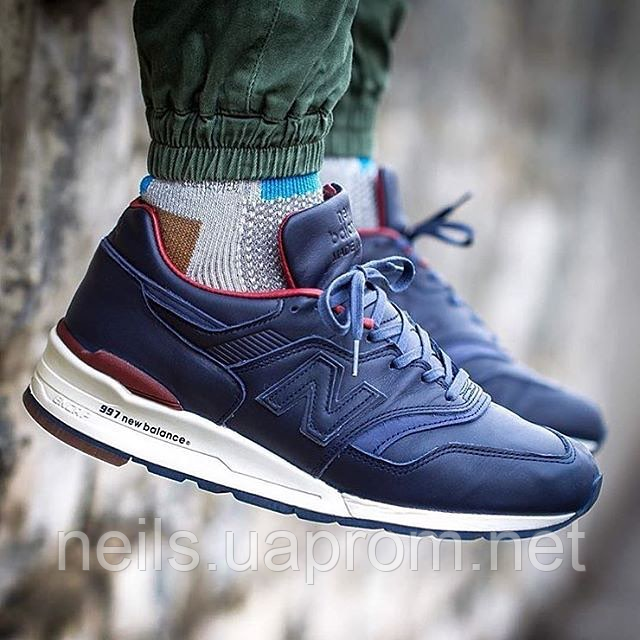 purchase cheap 6783f 61751 Кроссовки New Balance Leathers Horween X M997BEXP