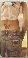 Чехол для iPhone 6 пластиковый Butterfly jeans