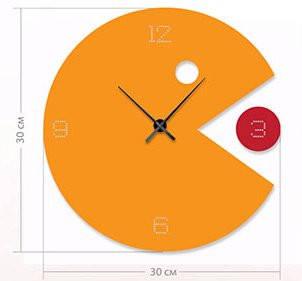 """Настенные часы """"Сыр"""" (30x30 см) [Акрил, Открытые]"""