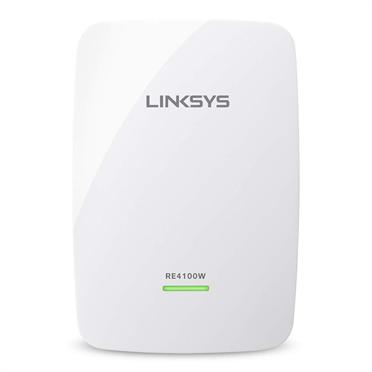 Расширитель сети Linksys RE4100W-EU / N600 DUAL-BAND WIRELESS RANGE EXTENDER повторитель, фото 2